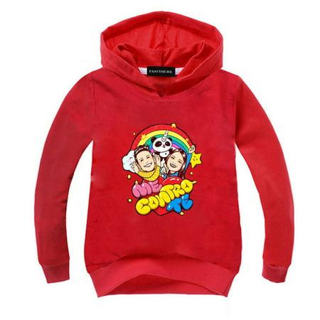 Fancyleo New Cute Baby Cartoon Printed Hoodie Long Sleeve Me Contro Te Hooded Sweatshirt Children Clothing Welcome To Fancyleo!