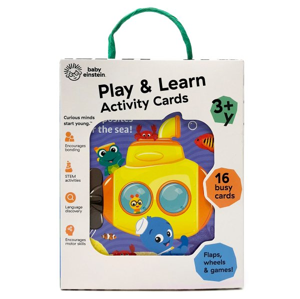 Baby Einstein Play and Learn Ocean Activity Cards