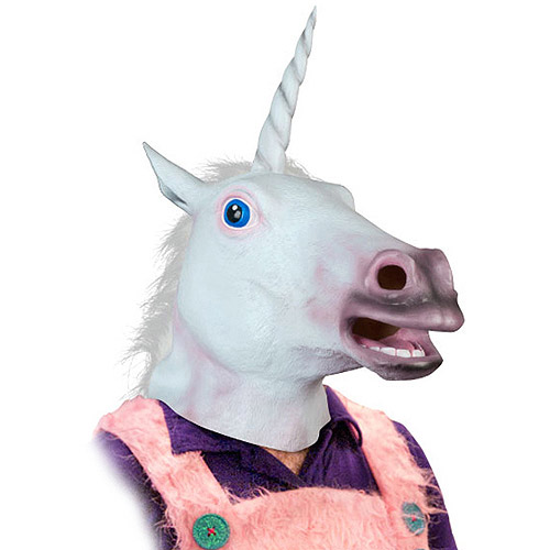 Accoutrement Magical Unicorn Mask