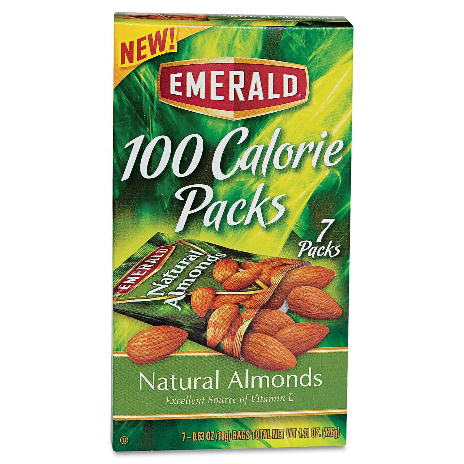 Product of Emerald® 100 Calorie Pack All Natural Almonds - 7 pks./box- Pack of 3 - Nuts & Trail Mixes [Bulk Savings]