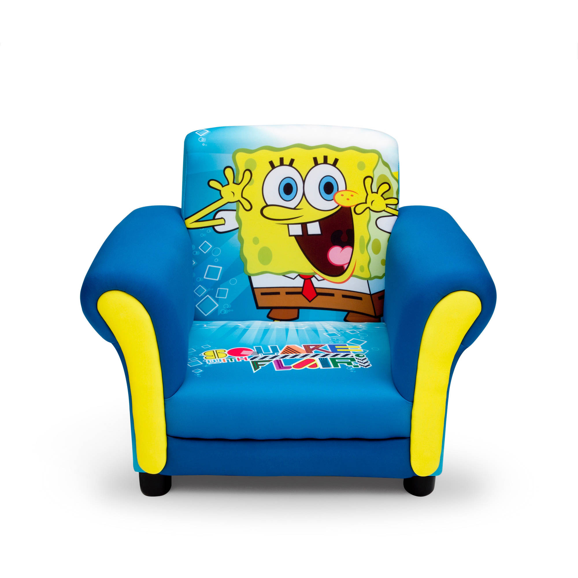 Delta Childrenu0027s Products Nickelodeon SpongeBob Upholstered Chair    Walmart.com