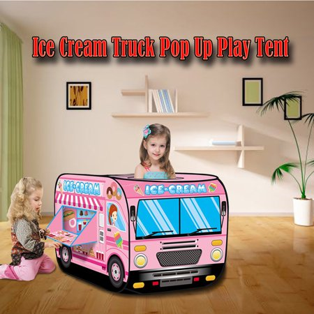 Iuhan Ice Cream Truck Popping Children's Tent Candy Car Carrying Handbag Toy