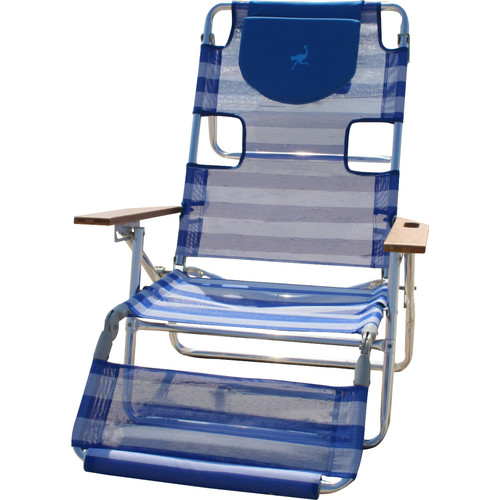 Ostrich Chair 3 in 1 Reclining Beach Chair