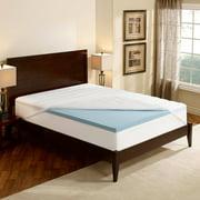 "Sleep Innovations Essentials 2"" Gel Memory Foam Mattress Topper with Waterproof Mattress Protector, Multiple Sizes"