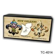 Caravelle Designs TC-4014 New Orleans Fleur de Sneeze