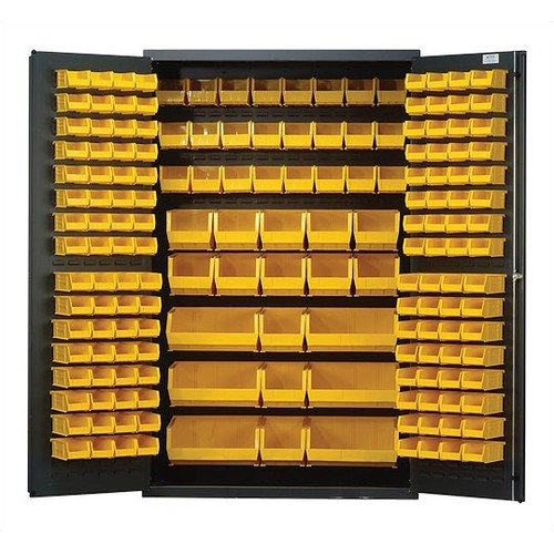 Quantum Storage 78'' H x 48'' W x 24'' D Welded Storage Cabinet