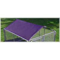 spsfence DKR60800 Solid Kennel Roof and Frame, For Use With Silver Series Kennel, 6 X 8 ft ()