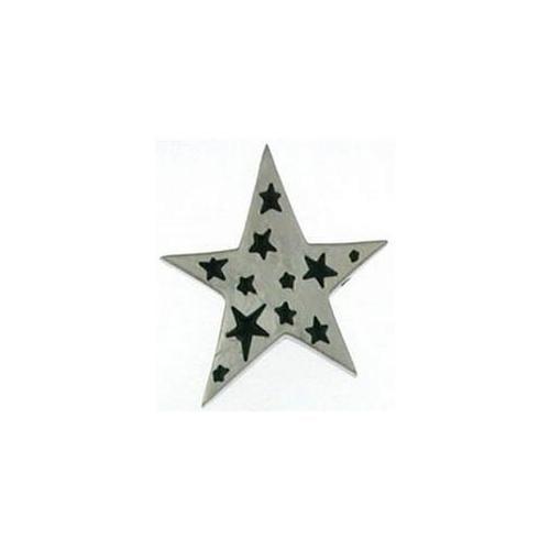 Doma Jewellery DJS01038 Stainless Steel Star Pendant