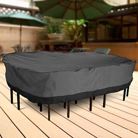 NEH Outdoor Patio Furniture Table and Chairs Cover 108