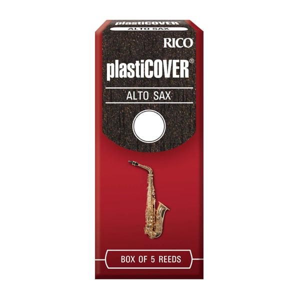 Rico RRP05ASX350 Plasticover Eb Alto Sax Reeds, 5CT, 3.5 Strength by Rico