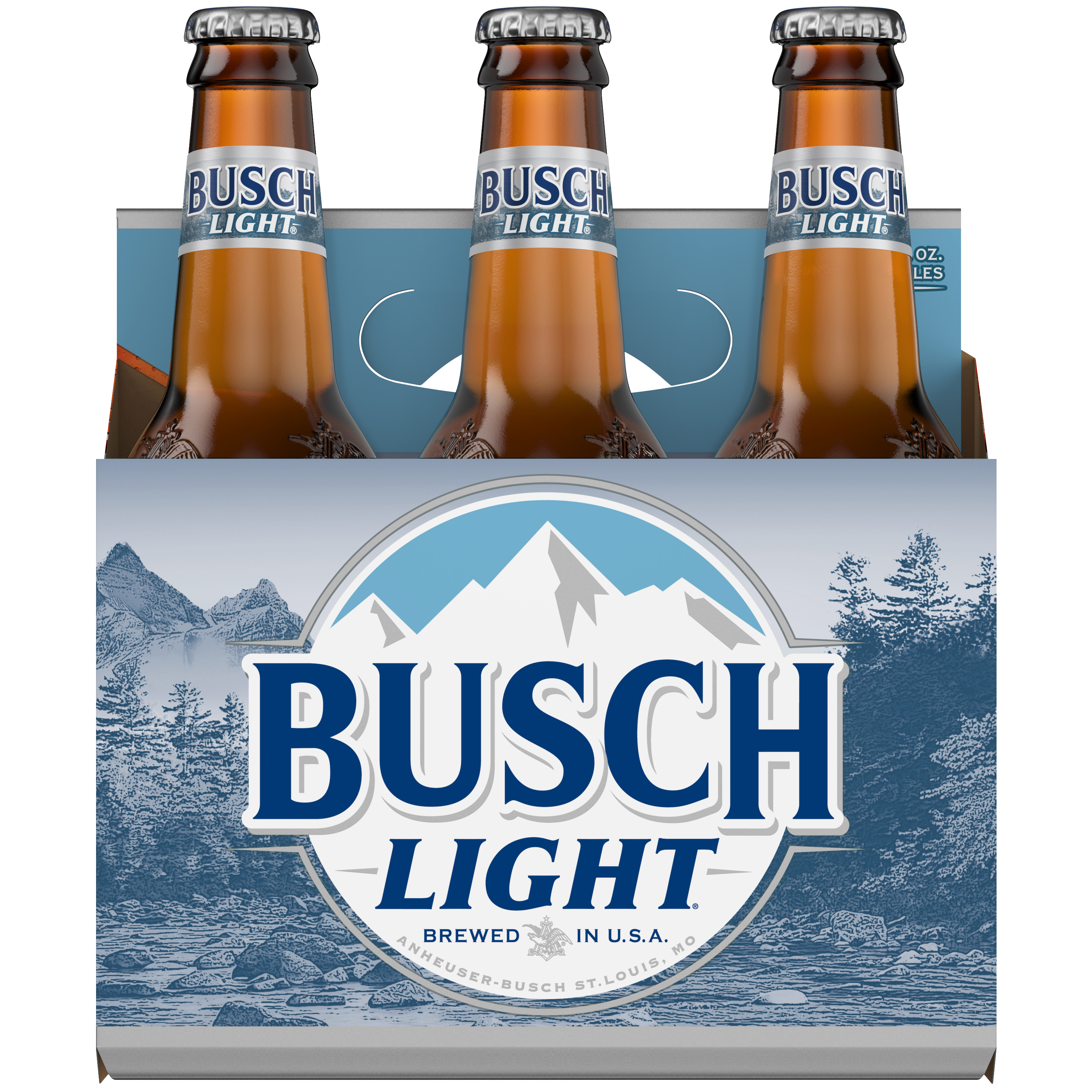 Busch Light® Beer, 6 Pack 12 fl  oz  Bottles - Walmart com