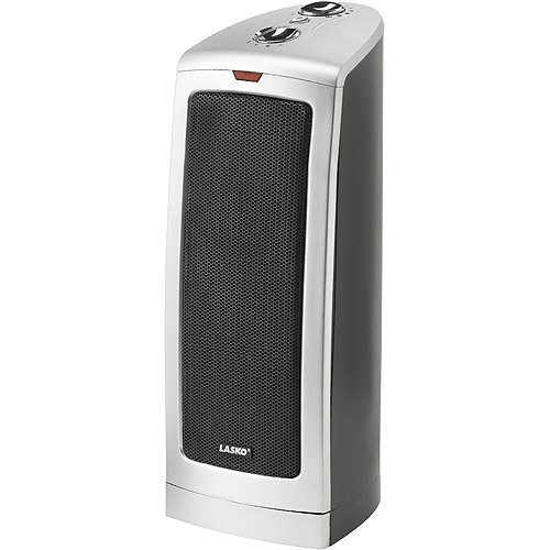 lasko ceramic tower heater lasko oscillating ceramic tower heater walmart 30790