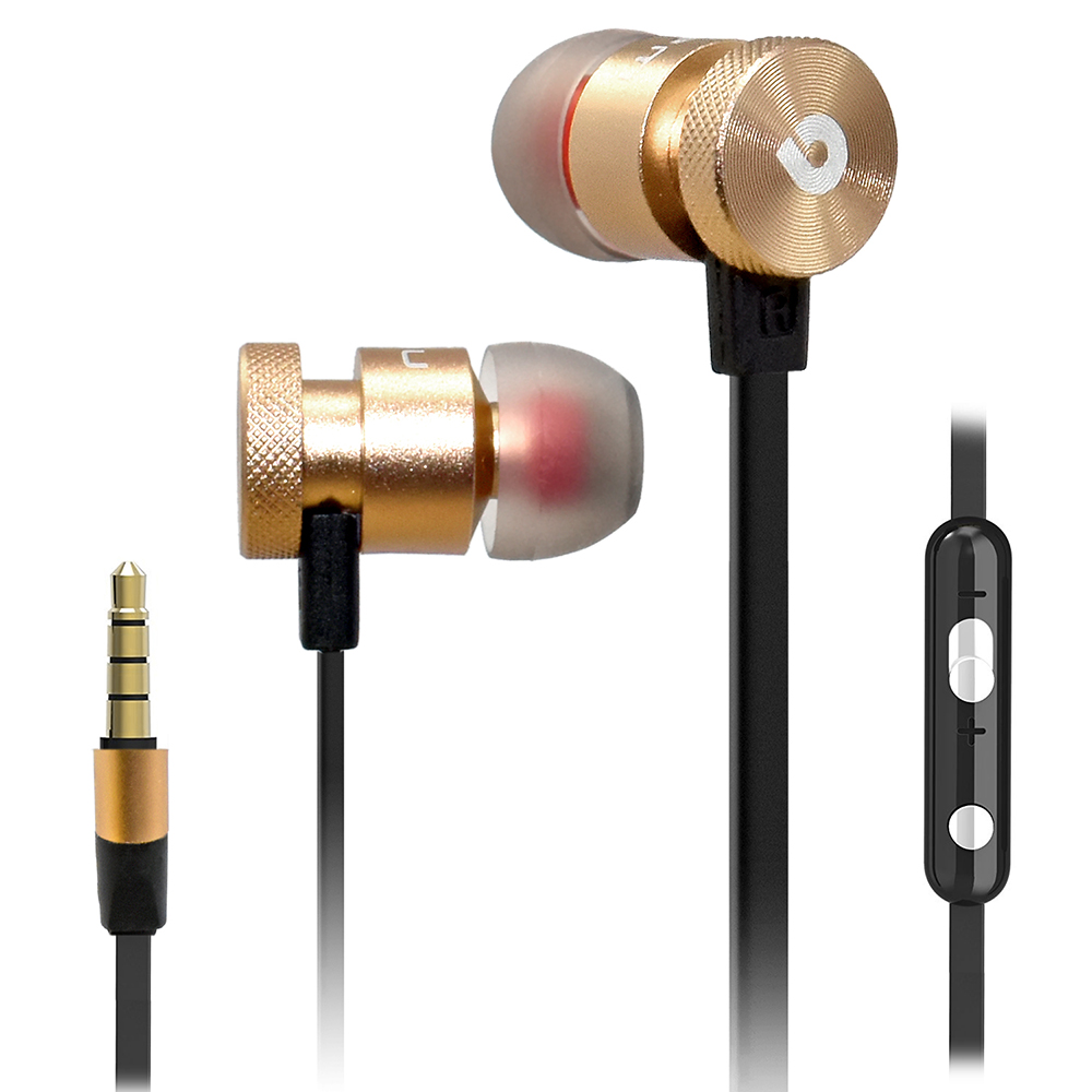 Universal Super Bass Noise Isolating Headset Earphone Headphone