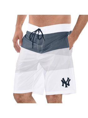 New York Yankees G-III Sports by Carl Banks Active Swim Trunks - Navy