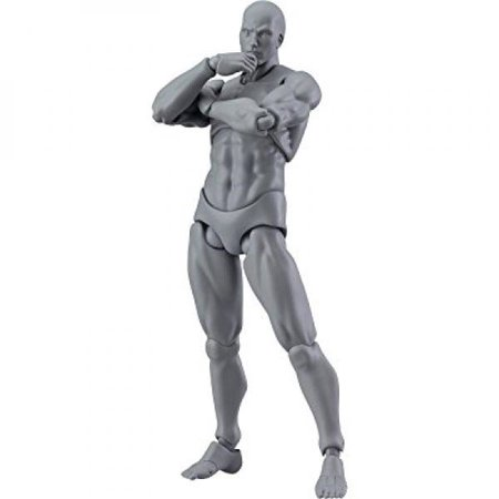 Max Factory Figma Archetype Next Male Action Figure (Gray Colored (Max Factory Figma Archetype Next Male Action Figure)
