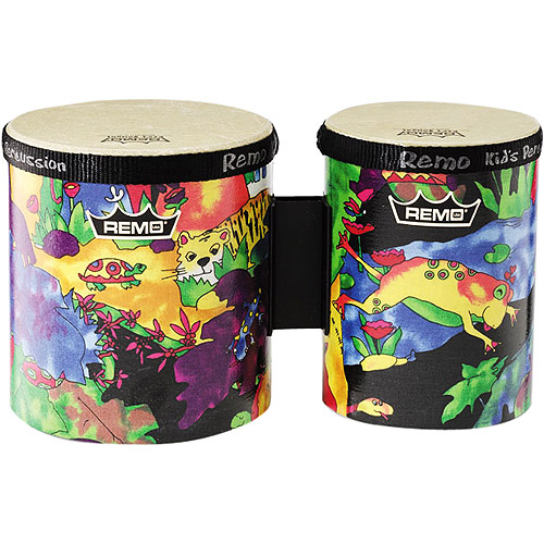 "Remo Kids Percussion - Bongos, 5""/6"""