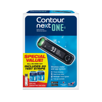 CONTOUR NEXT ONE Blood Glucose Monitoring System Value Pack