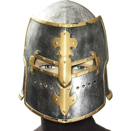 Medieval Knight Plastic Costume Helmet
