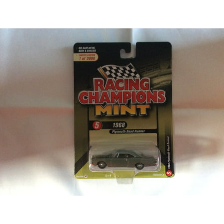 Racing Champions Mint RC008  Version A 1968 Plymouth Road (1971 Plymouth Scamp 2 Dr For Sale)