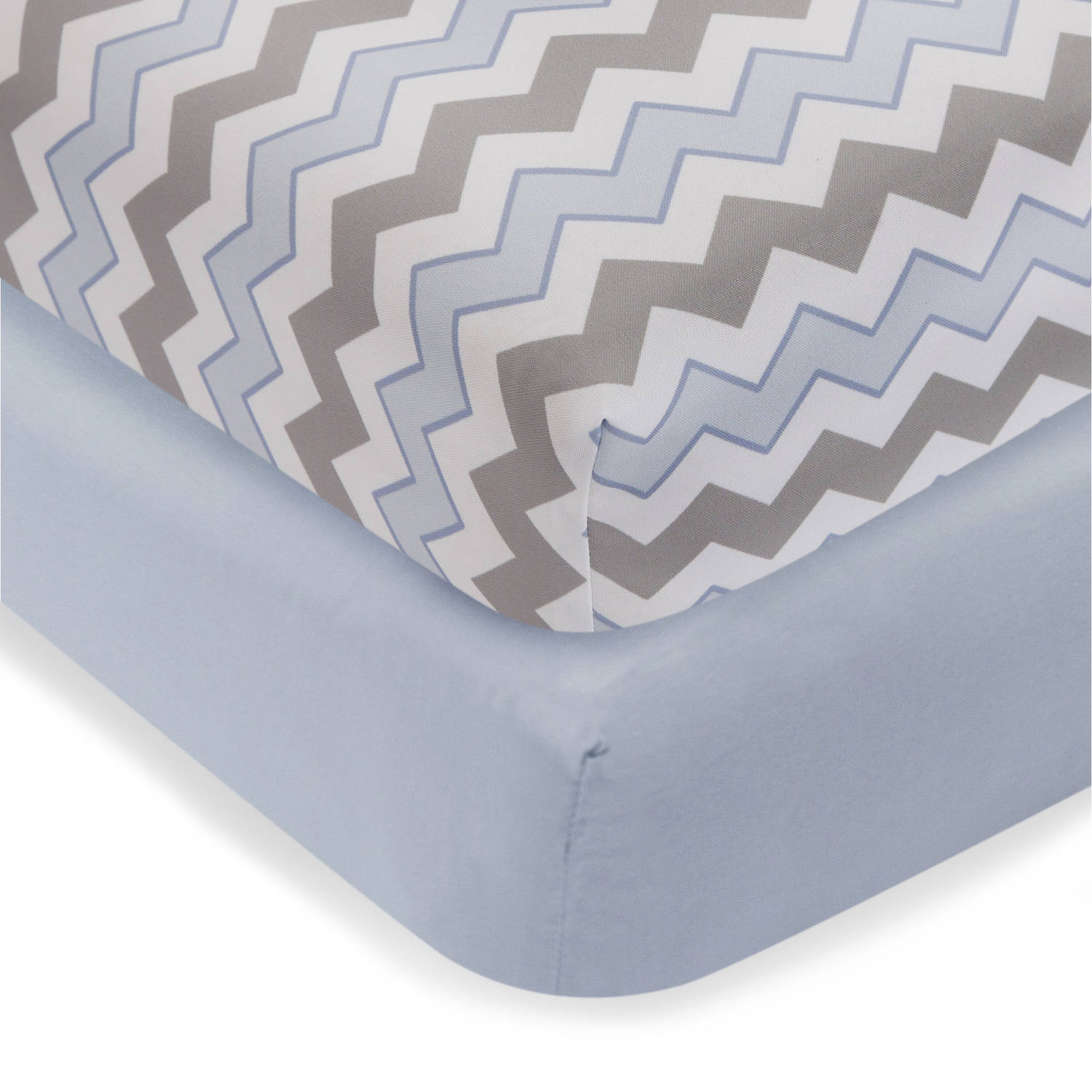 Bedtime Originals Mod Monkey Crib Sheets, 2pk