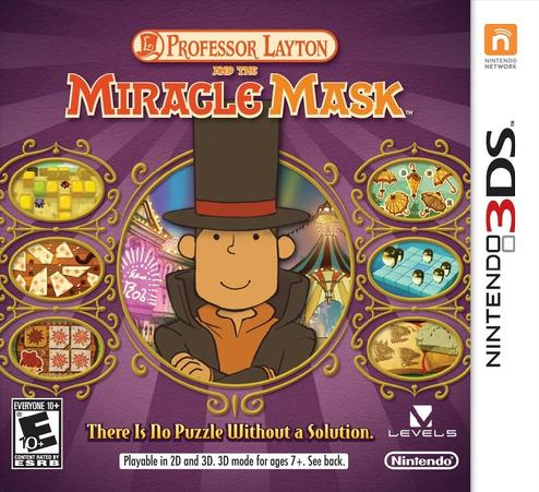 Professor Layton and The Miracle Mask - Nintendo