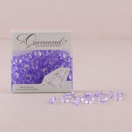 Clear Acrylic Diamond Shaped Confetti](Diamond Confetti)