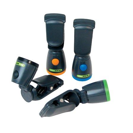 24/Pack Blackfire Mini Clamp Flashlight Includes Batteries 890