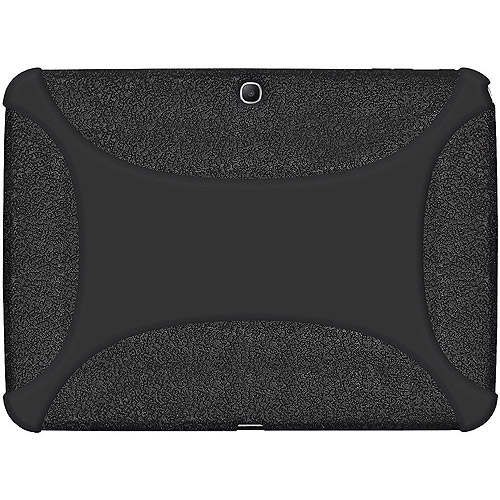 Amzer Silicone Skin Jelly - Protective cover for web tablet - silicone - black -
