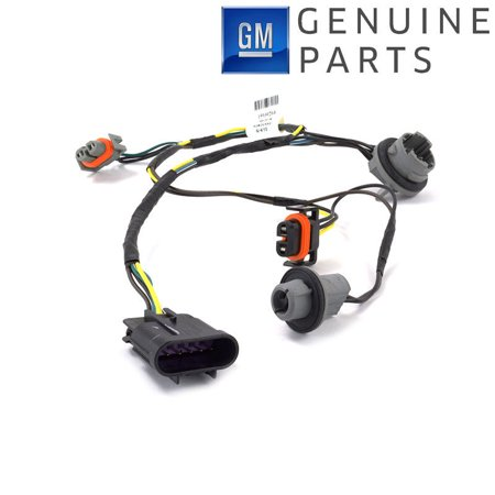 GM OEM Head Light Socket Wiring Harness Front Right or Left 2008-2012 Malibu - Headlamp Wiring Harness