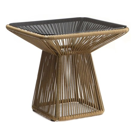 Image of 100 Essentials Borneo Wicker Patio Dining Table