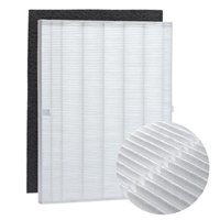 true hepa filter replacement and carbon pre filter compatible with winix 115115 plasmawave size 21. fits model wac5300, wac5500, wac6300, 5000, 5000b, 5300, 5500-2, p300, c535