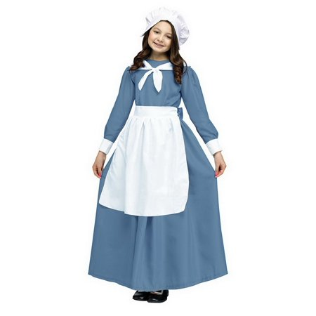 Funworld FNW-90404P-C Pilgrim Cap & Apron Adult Costume Kit, One Size (Pilgrim Costume Adult)