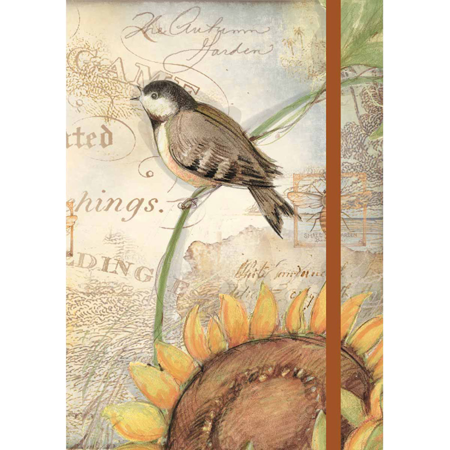 Lang Sunflower Birds Classic Journal
