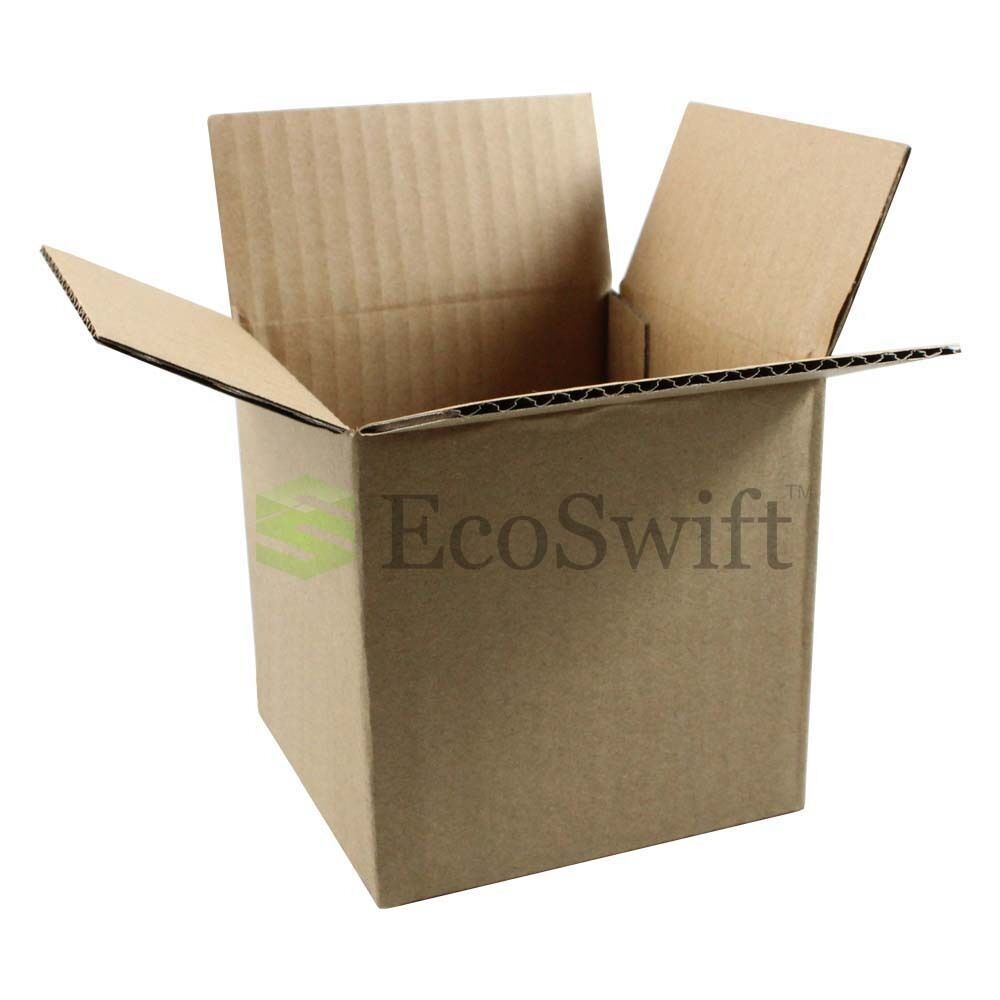 "25 6/"" X 6/"" X 6/"" Packing Moving Shipping Cardboard Corrugated Boxes Cartons White"