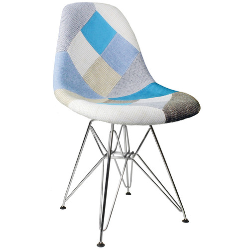 eModern Decor Patchwork Side Chair