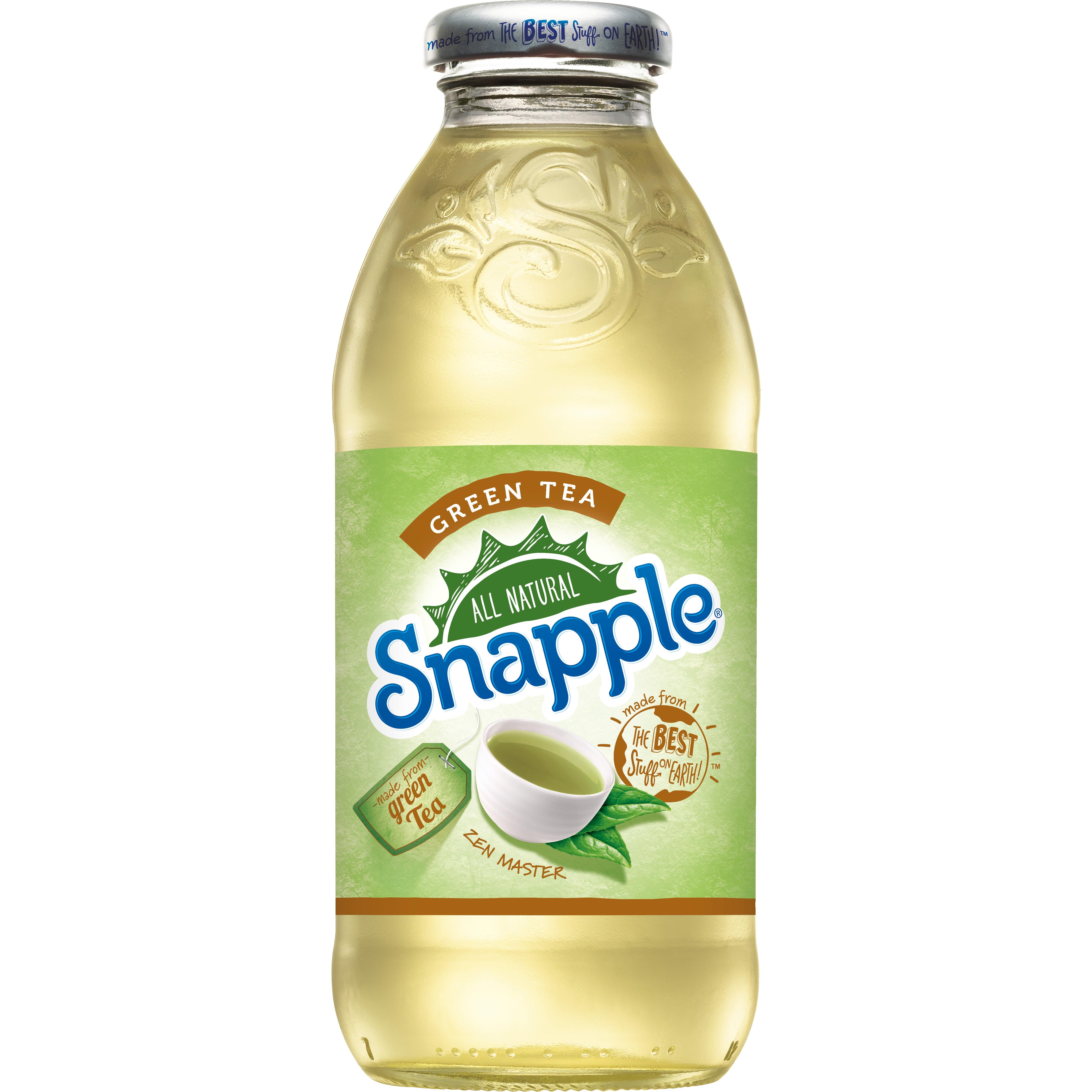 Snapple Green Tea, 16 fl oz