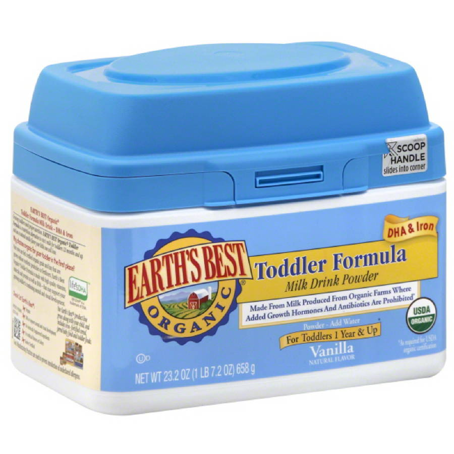 Earth's Best Organic Toddler Formula Milk Drink Powder, 23.2 oz, (Pack of 4)
