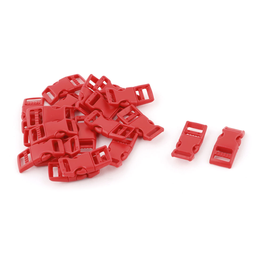 Schoolbag Plastic Replacement Strap Adjtive Quick Release Buckle 20 Pc
