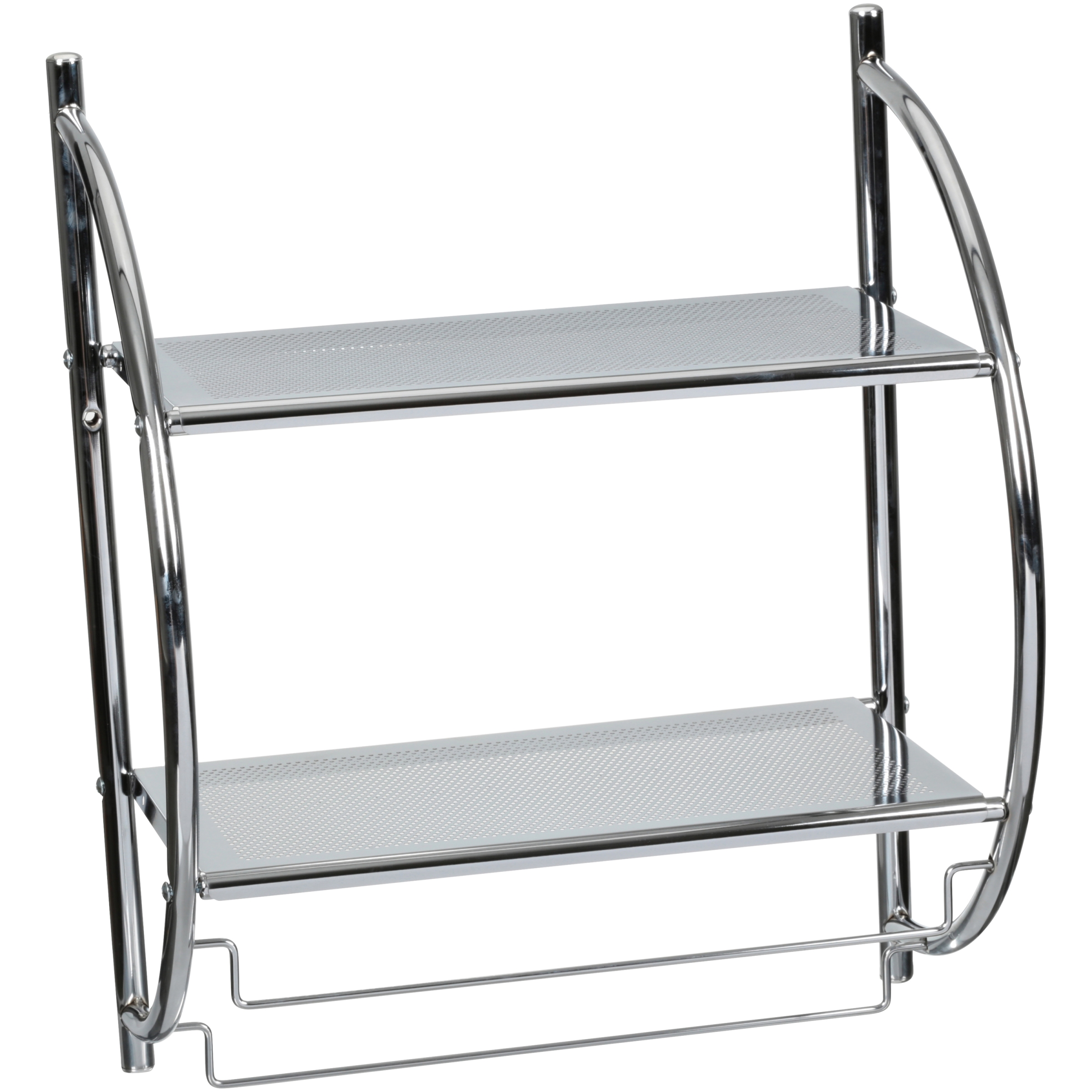 Neu Home® 2 Tier Mounting Shelf with Towel Bars