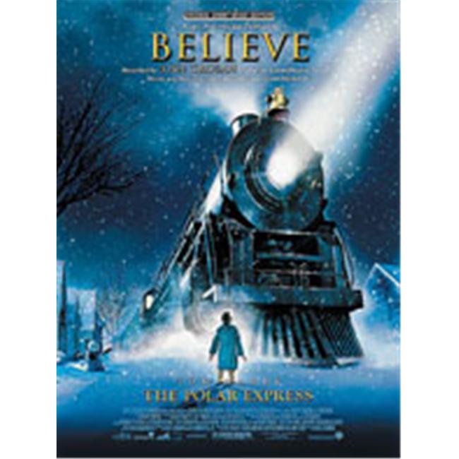 Alfred 00-PVM04090 Believe- from The Polar Express - Music Book - image 1 de 1