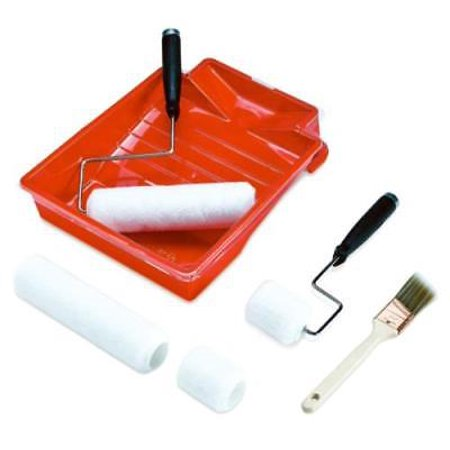8 Piece Teflon Paint Roller Tray Set