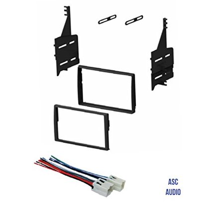 ASC Car Stereo Dash Install Kit and Wire Harness for Installing a Double Wiring Diagram For Nissan Altima Dash on