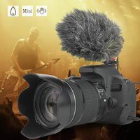 Aluminium Alloy Omni-directional Condenser Video Microphone with Windscreen for Phone, Camera Microphone,Condenser Microphone