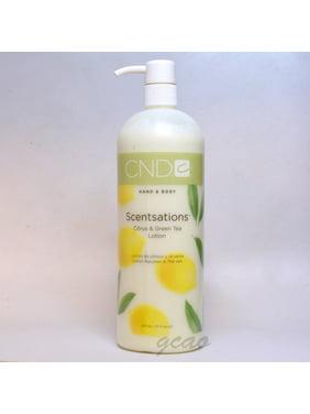 CND Hand & Body Scentsations Citrus & Green Tea Lotion 917 ml / 31 oz