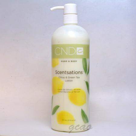CND Hand & Body Scentsations  Citrus & Green Tea Lotion 917 ml / 31 - Lights Body