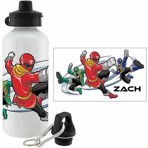 Personalized Power Rangers Super Mega Mode Sports Bottle