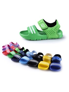 ab04b5dd4 Product Image 1 Pair Casual Children Kids Shoes Baby Boy Closed Toe Summer  Beach Sandals Flat