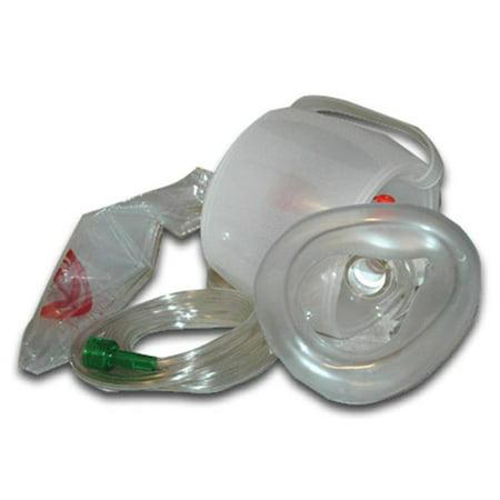 Moore Medical 922-00430 Disposable Bag Valve Mask Resuscitator for Adult