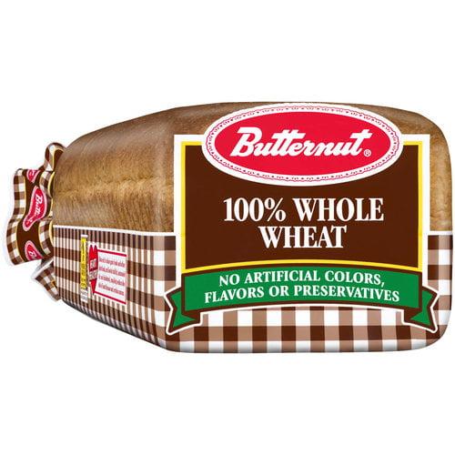 Butternut 100% Whole Wheat Bread, 20 oz