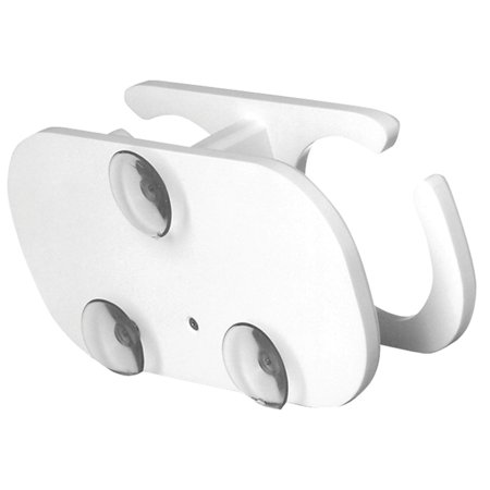 TACO 2-Drink Poly Cup Holder w/Suction Cup Mounts - White - image 1 of 1
